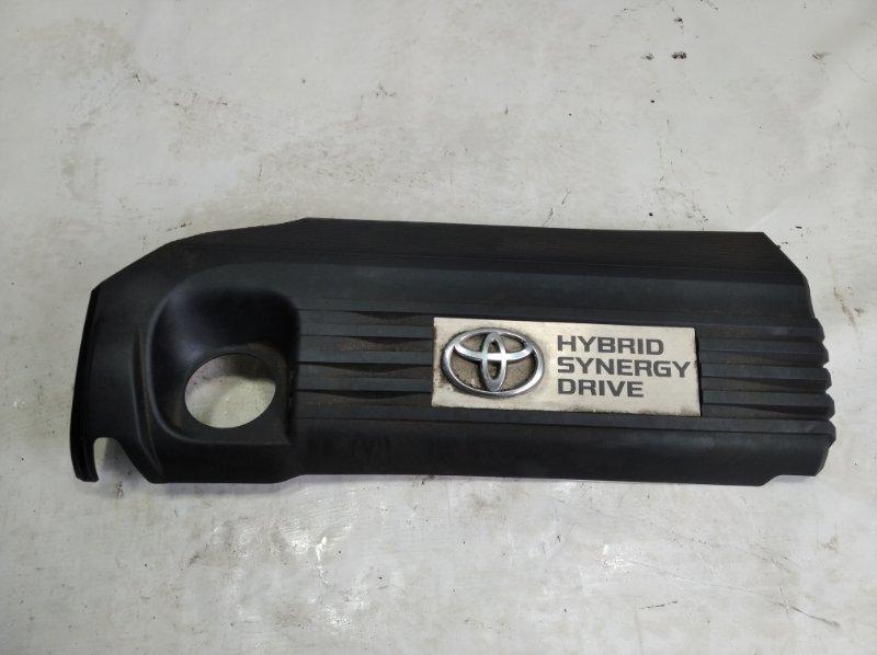Пластиковая крышка на двс Toyota Sai AZK10 2AZFXE 2009 передняя