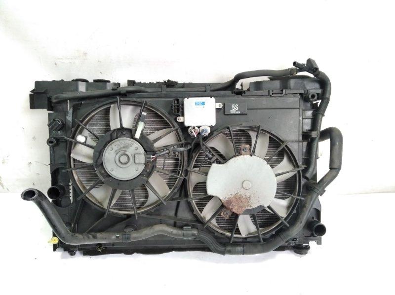 Радиатор основной Toyota Sai AZK10 2AZFXE 2009 передний