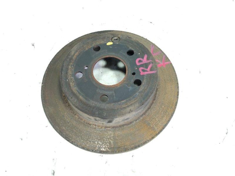 Тормозной диск Toyota Sai AZK10 2AZFXE 2009 задний правый