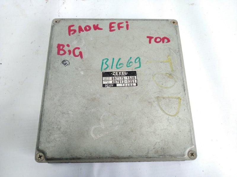 Блок управления efi Isuzu Bighorn UBS69GW передний