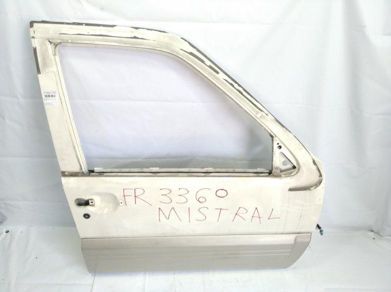 Дверь Nissan Mistral R20 TD27T 02.1996 передняя правая