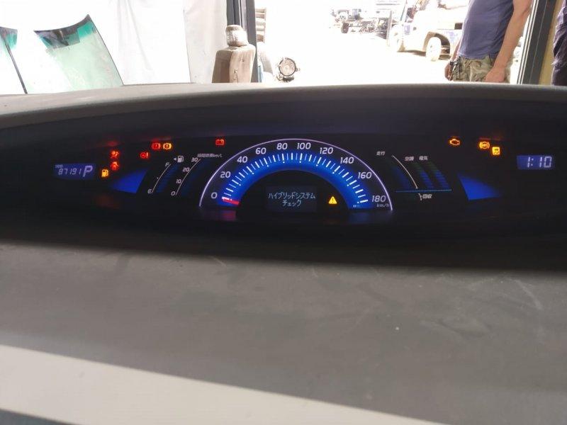 Спидометр Toyota Estima AHR20W 2AZFXE 2009 передний