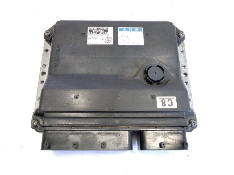 Блок управления efi Toyota Rav4 ACA31 2AZFE 2006 передний
