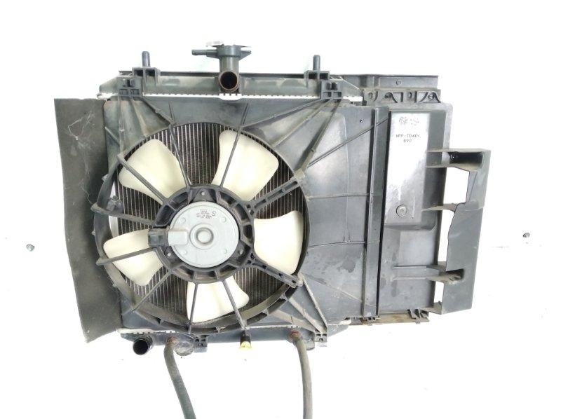 Радиатор основной Toyota Passo Sette M502E 3SZFE 2010 передний