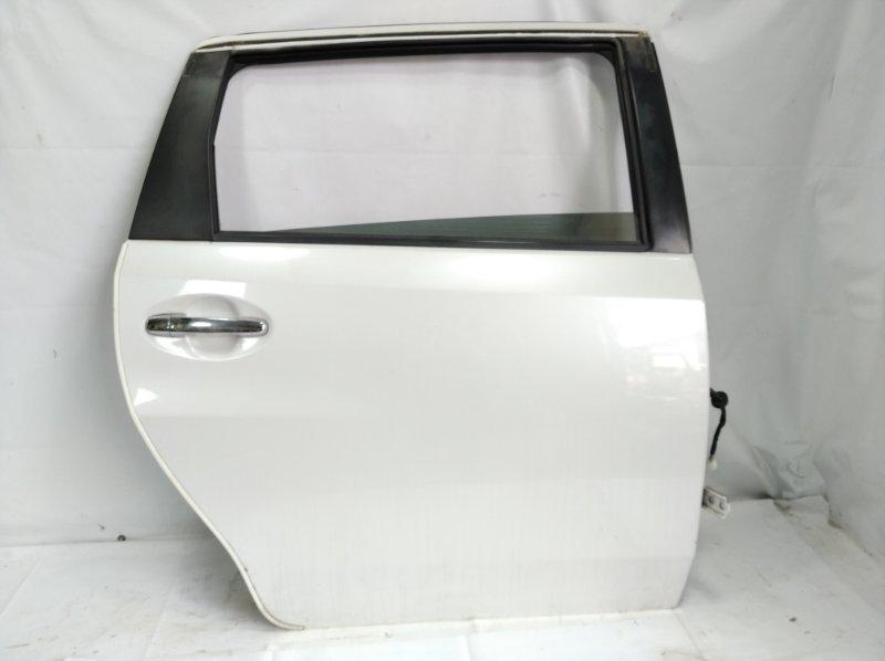 Дверь Toyota Passo Sette M502E 3SZFE 2010 задняя правая