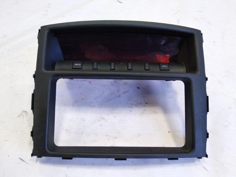 Монитор Mitsubishi Pajero V93W 6G72 2007