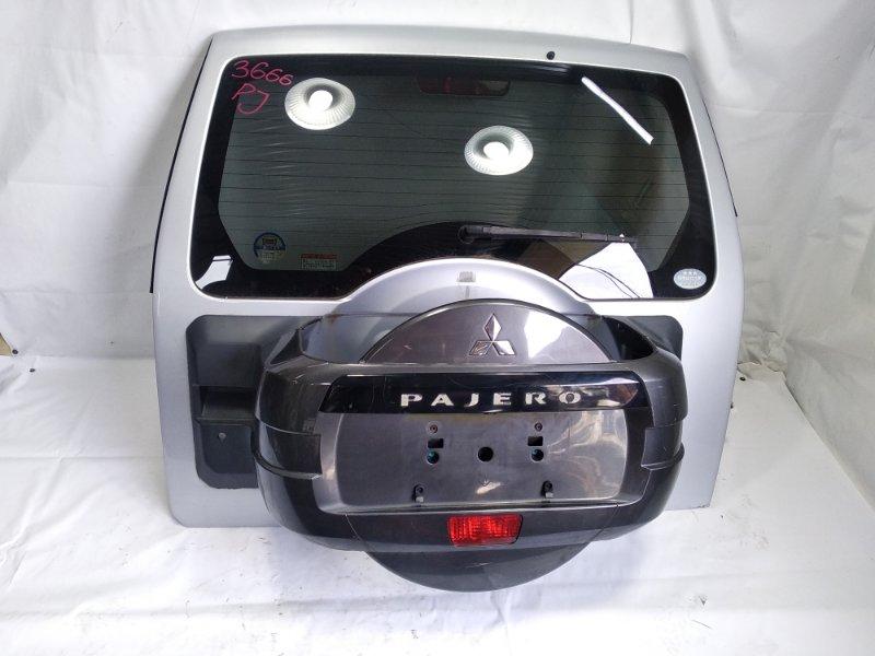 Дверь 5я Mitsubishi Pajero V93W 6G72 2007 задняя