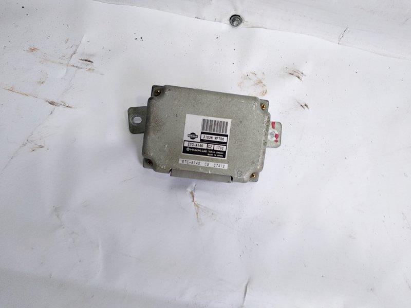 Блок управления автоматом Nissan Liberty RM12 QR20DE 2001