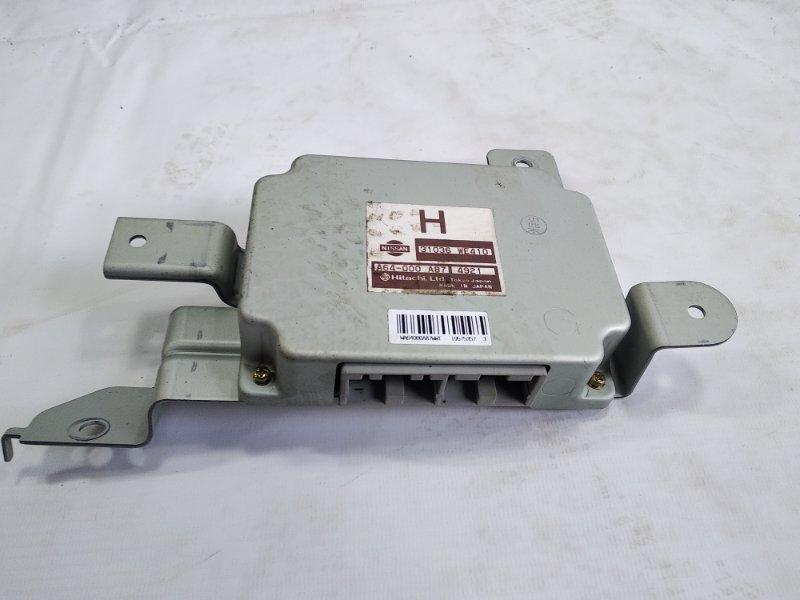Блок управления автоматом Nissan Ad VFY11 QG18DE 2004