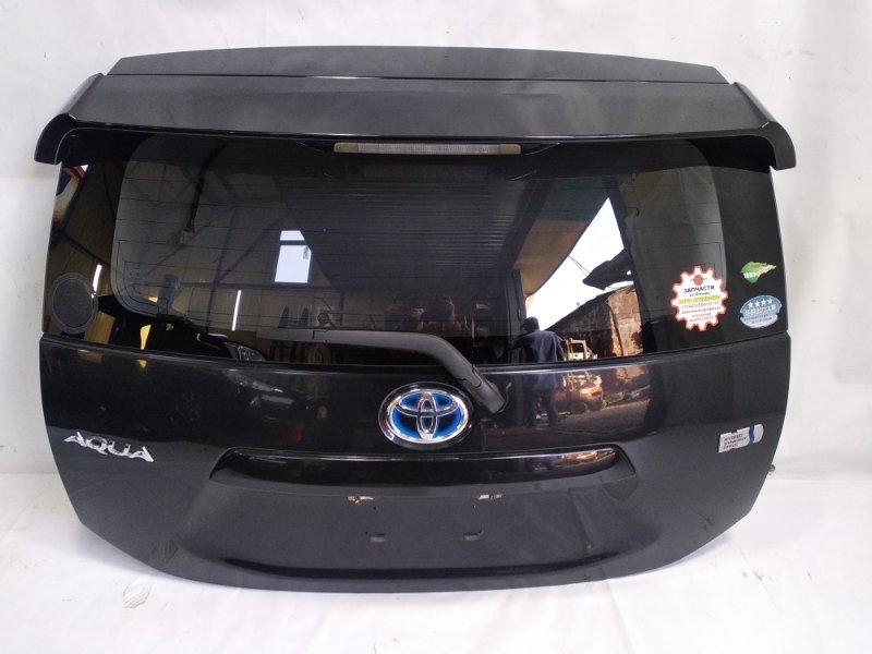 Дверь 5я Toyota Aqua NHP10 1NZFXE 2012 задняя