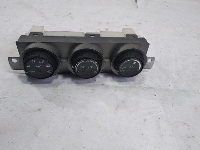 Блок управления климат-контролем Nissan Xtrail T30 SR20VET 2005 передний