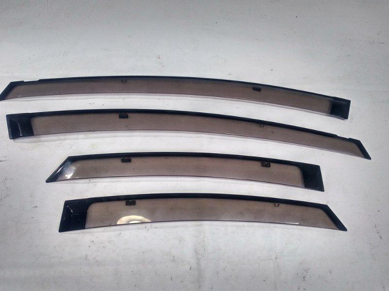 Ветровики комплект Toyota Prius ZVW30 2ZRFXE 2009
