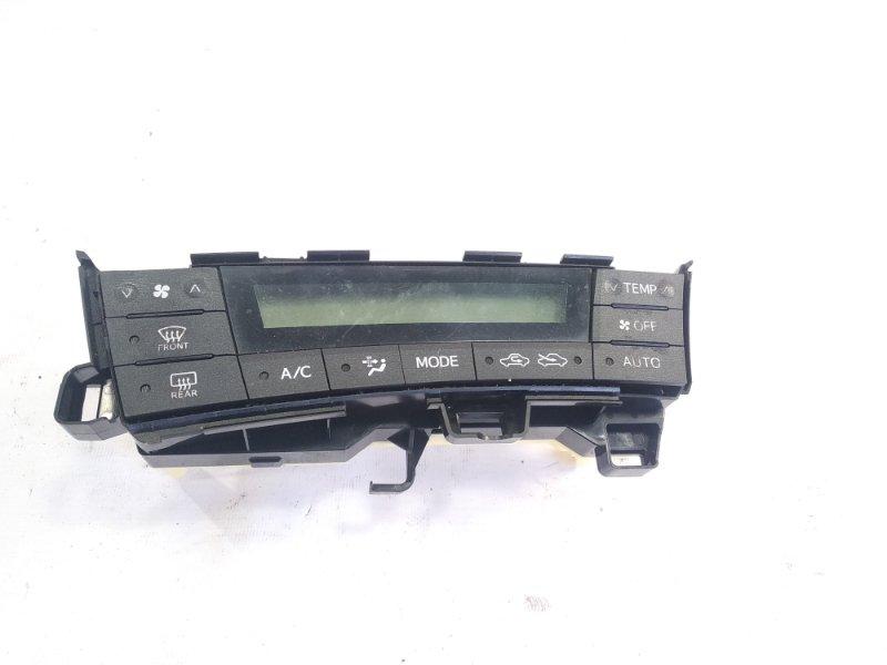 Блок управления климат-контролем Toyota Prius ZVW30 2ZRFXE 2009