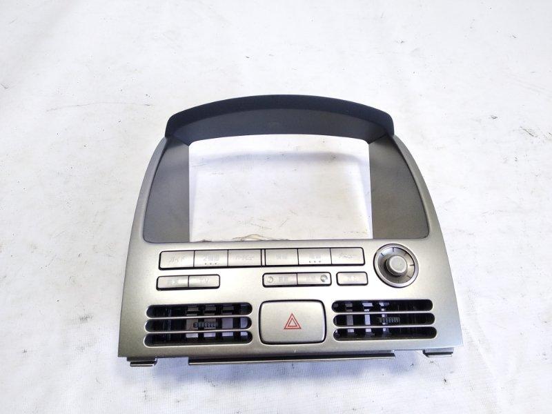 Консоль магнитофона Nissan Ad VFY11 QG18DE 2003