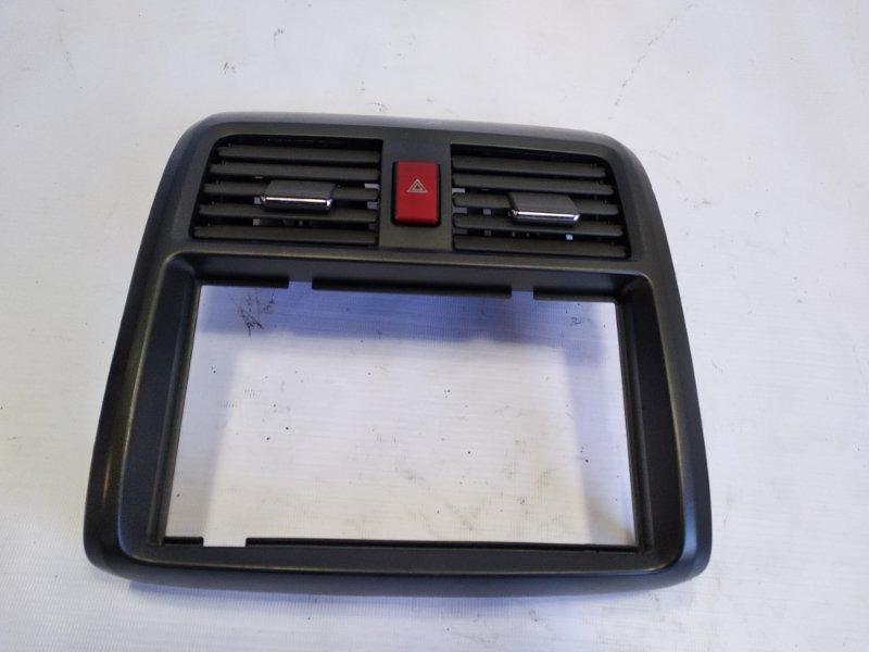 Консоль магнитофона Honda Airwave GJ1 L15A 2005 передний