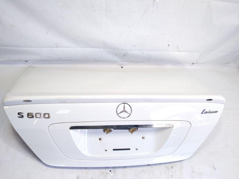 Спойлер Mercedes-Benz S-Class WDB220 113960 2001