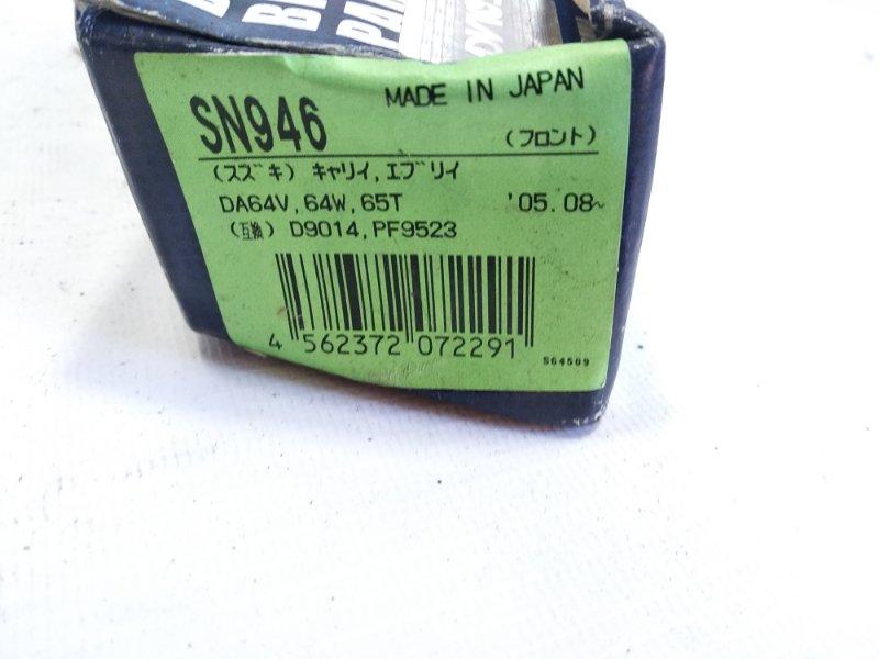 Тормозные колодки Nissan Silvia S14 SR20DET переднее