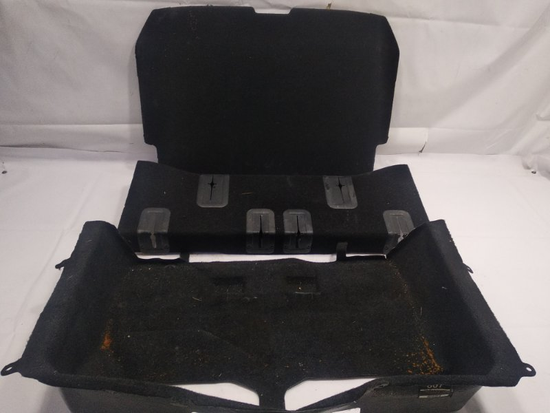 Пол багажника пластик Toyota Vanguard ACA31 2AZFE 2011 задний