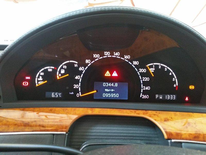 Спидометр Mercedes-Benz S-Class WDB220 137970 2002