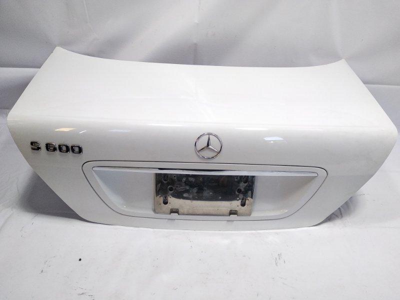 Крышка багажника Mercedes-Benz S-Class WDB220 137970 2002