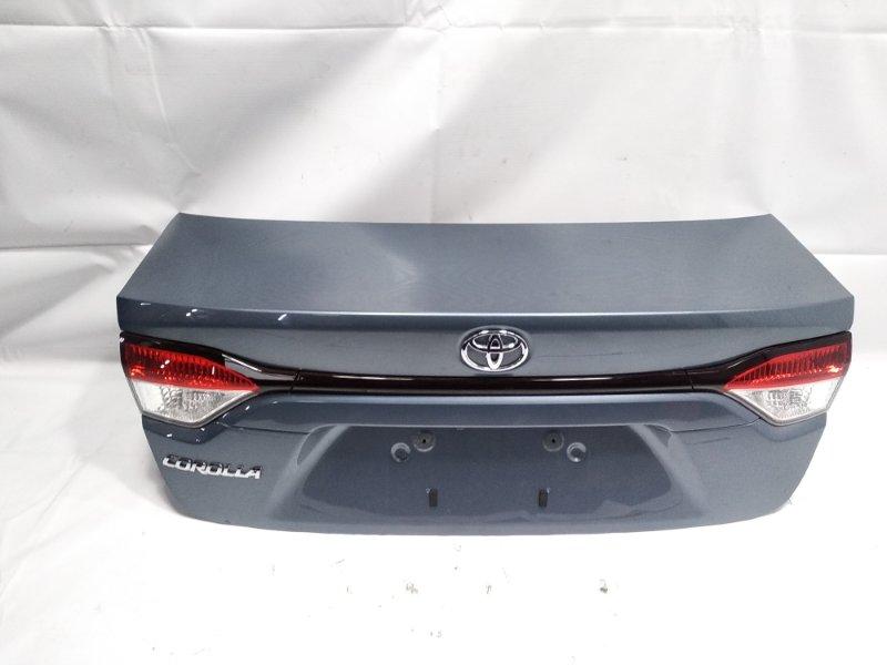 Крышка багажника Toyota Corolla ZRE212 2ZRFAE 2020 задняя