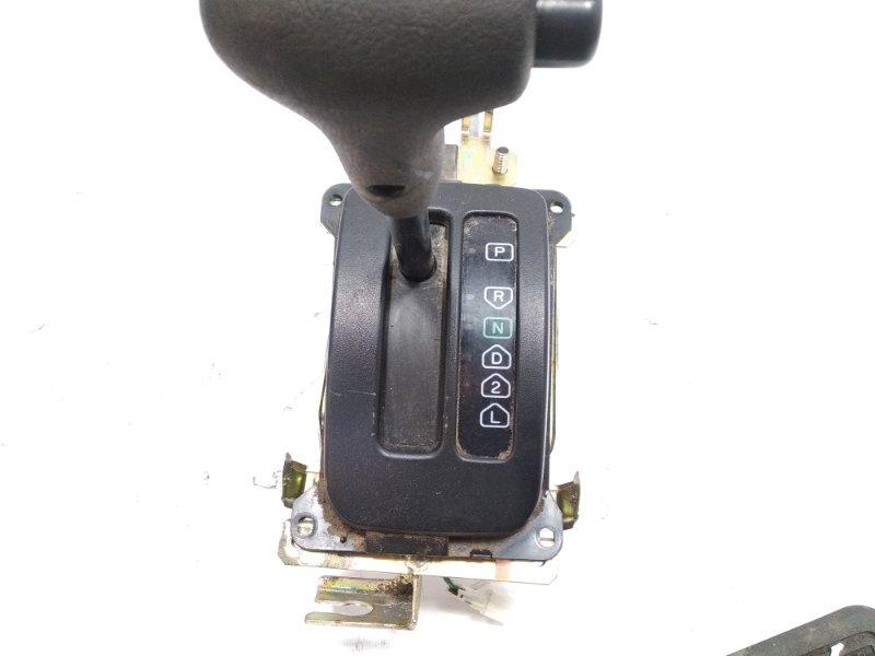 Селектор акпп Mitsubishi Pajero Junior H57A 4A31 1997 передний