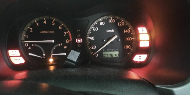 Спидометр Honda Hrv GH1 D16A 2004 передний правый