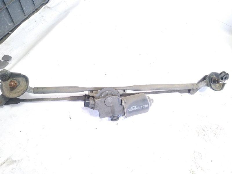 Механизм стеклоочистителя Toyota Hilux Surf RZN215W 3RZFE 2003 передний