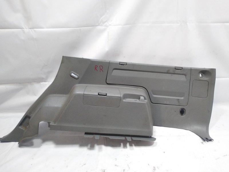 Обшивка багажника Toyota Hilux Surf RZN215W 3RZFE 2003 задняя правая