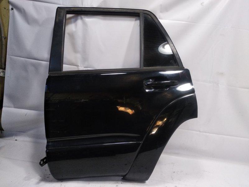 Дверь Toyota Hilux Surf RZN215W 3RZFE 2003 задняя левая