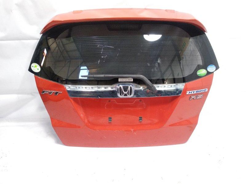 Спойлер Honda Fit GP1 LEA 2012 задний