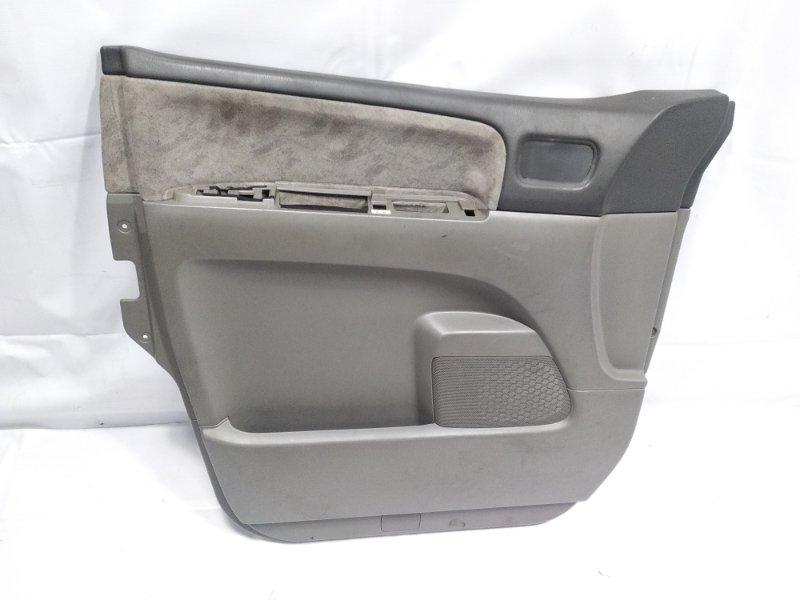 Обшивка дверей Nissan Elgrand AVWE50 QD32ETI 1997 передняя левая