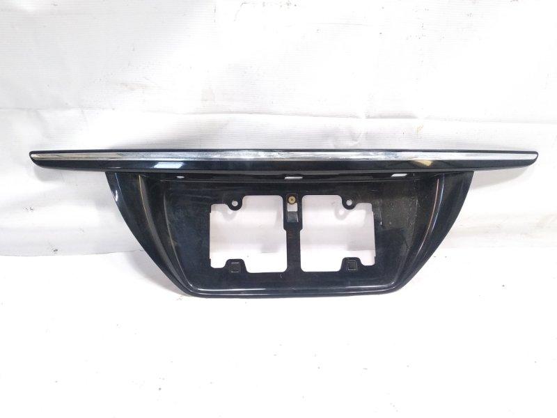 Накладка на багажник Toyota Crown Athlete GRS200 4GRFSE 2010 задняя