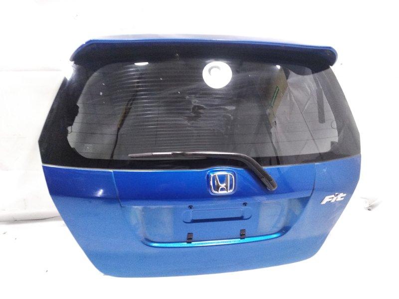 Дверь 5я Honda Fit GD1 L15A 2005 задняя