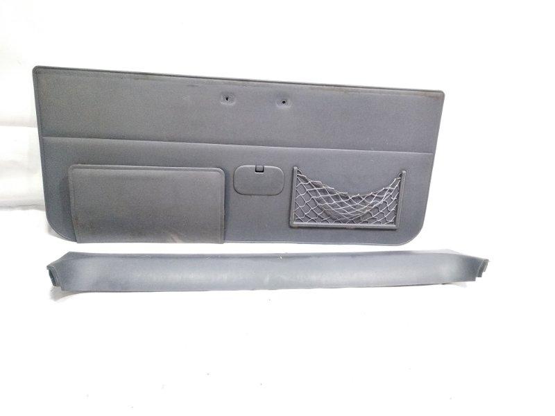 Обшивка двери багажника Toyota Land Cruiser Prado VZJ95 1KZTE 1996.10 задняя