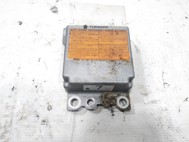 Блок управления airbag Nissan Xtrail T30 SR20VET 2001 передний
