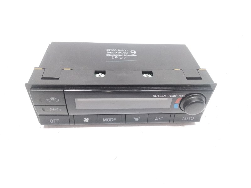 Блок управления климат-контролем Nissan Xtrail T30 SR20VET 2001