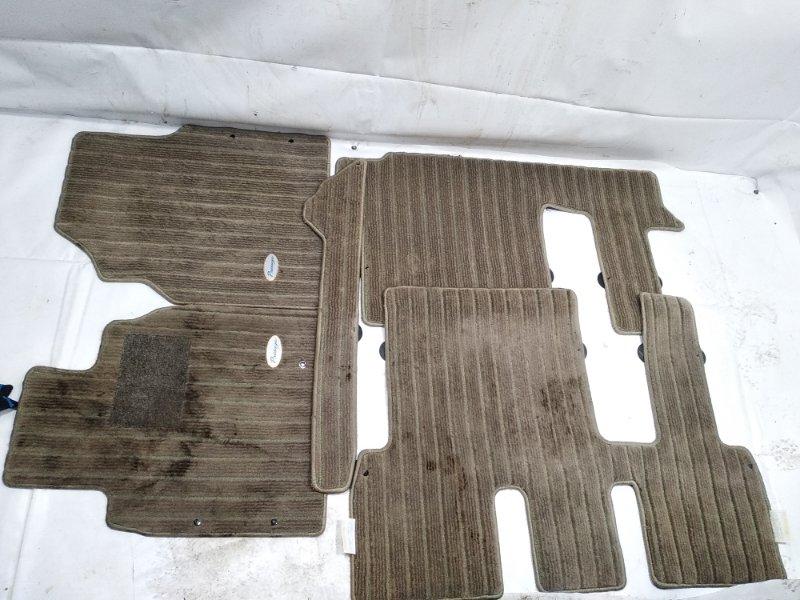 Коврики комплект Nissan Presage HU30 KA24DE 1998 передние