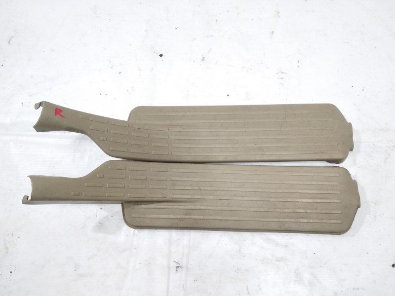 Накладка на порог салона Nissan Presage HU30 KA24DE 1998 задняя левая