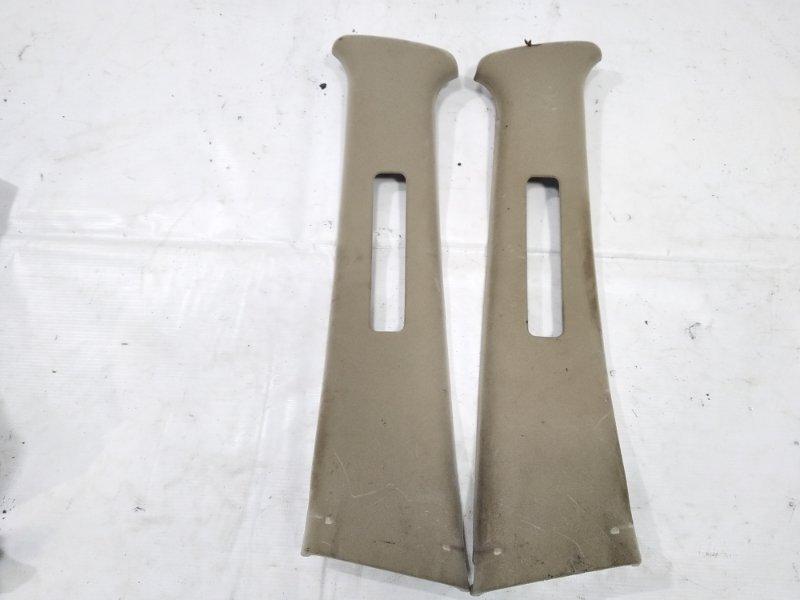 Обшивка стойки кузова Nissan Presage HU30 KA24DE 1998 задняя правая