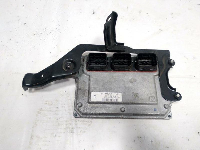 Блок управления двс Honda Fit GE8 L15A 2011 передний