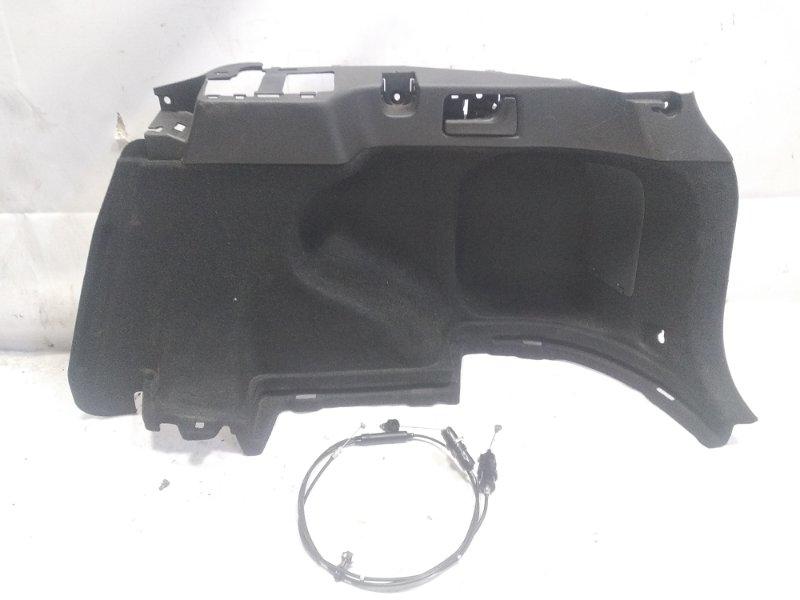 Обшивка багажника Toyota Corolla Fielder NZE141 1NZFE 2009 задняя правая