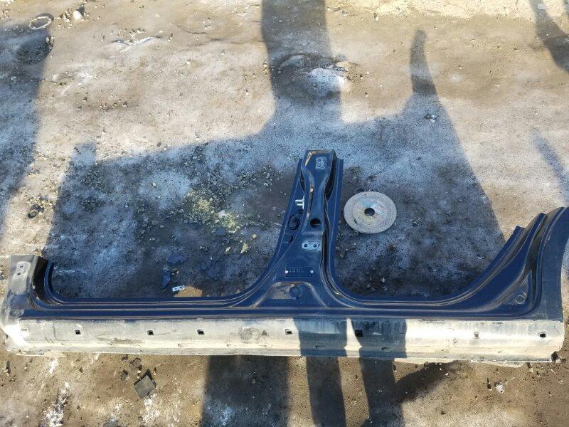 Порог кузова Honda Fit GP1 L15A 2011 передний левый