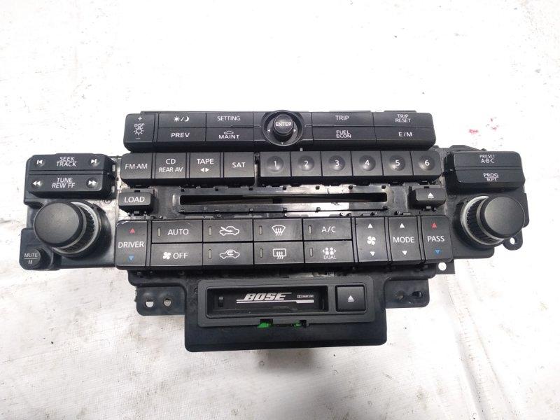 Блок управления климат-контролем Infiniti Fx35 S50 VQ35DE 2005
