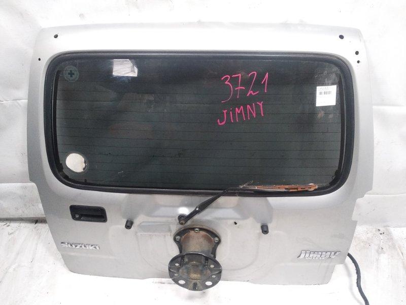 Дверь 5я Suzuki Jimny JB23W G13B 1998 задняя
