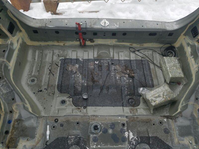 Тазик железный Honda Step Wagon RK5 R20A 2010 задний