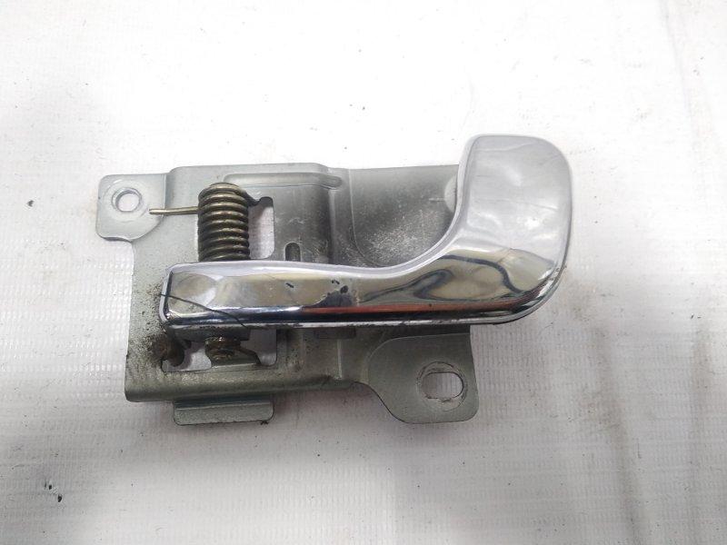 Ручка двери внутренняя Mitsubishi Pajero V21W 4M40 1994 передняя левая