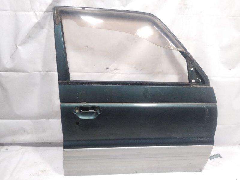 Дверь Mitsubishi Pajero V21W 4M40 1994 передняя правая