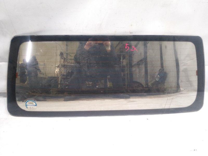 Стекло 5-й двери Mitsubishi Pajero V21W 4M40 1994 заднее