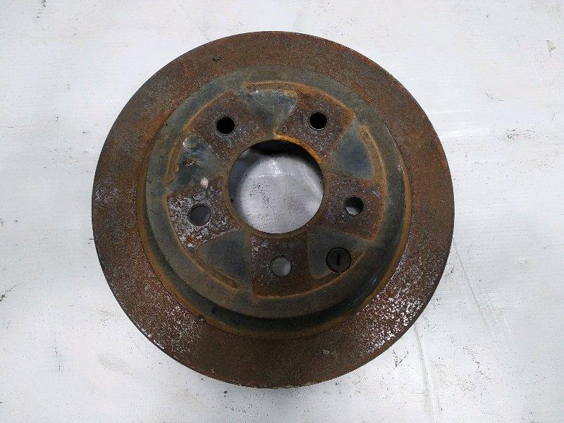 Тормозной диск Nissan Xtrail T31 M9R 2011 задний левый